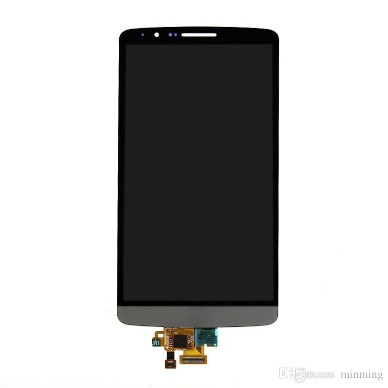 100% misurato bene LG G3 D850 D855 Display LCD + Touch Screen Digitizer Assembly PANTALLA para LG G3 LCD