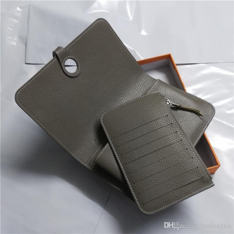 M109 Genuine leather card holder clutch purse women wallet handbag brand designer fashion luxury promotional discount