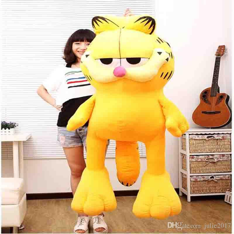 2020 Large Soft Garfield Creative Pillow Doll Plush Toys Valentines Day Gift Stuffed Animal Toy Christmas Gift From Julie2017 32 1 Dhgate Com