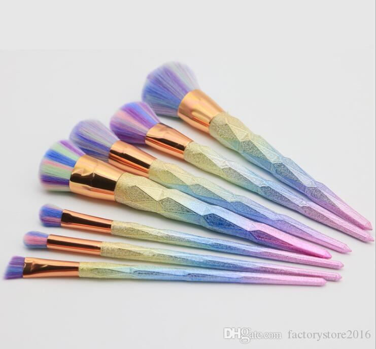 New Cheap Brush kit Professional Vander Cream Power Makeup Brushes Multipurpose Beauty Cosmetic Tools Puff Batch Kabuki Blusher