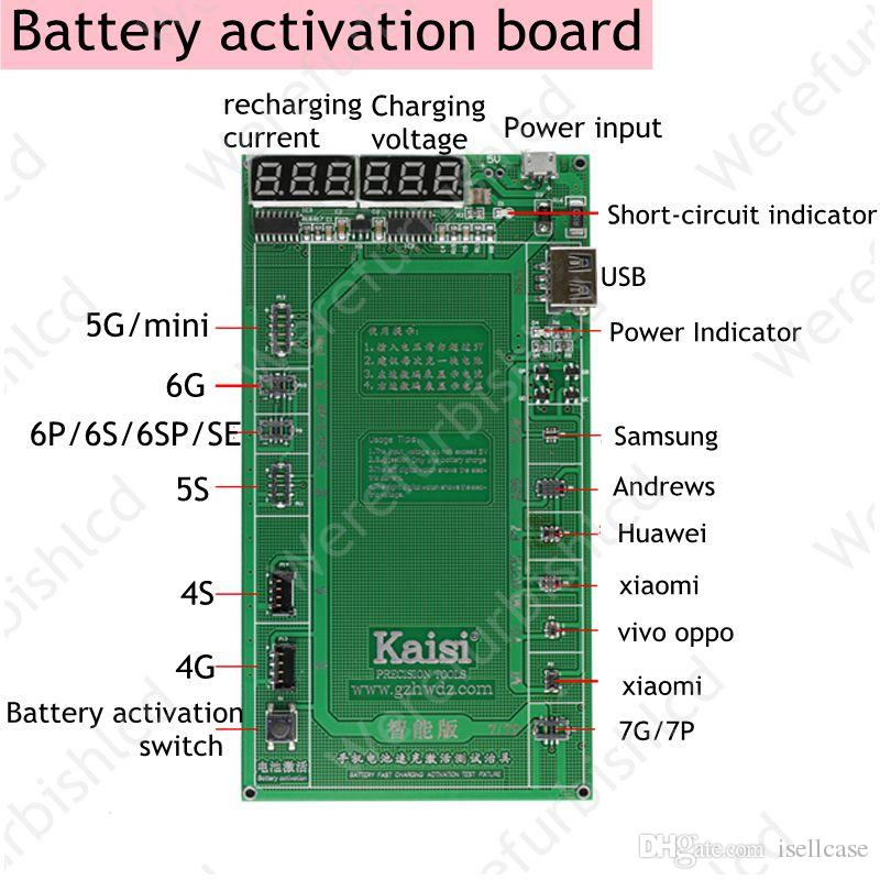 7p Phone Professional Battery Activation Charge Pcb Board