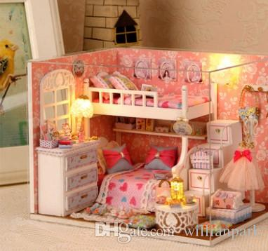 The Little Girl Toys Children'S Play Doll House Manual 5 6 ...