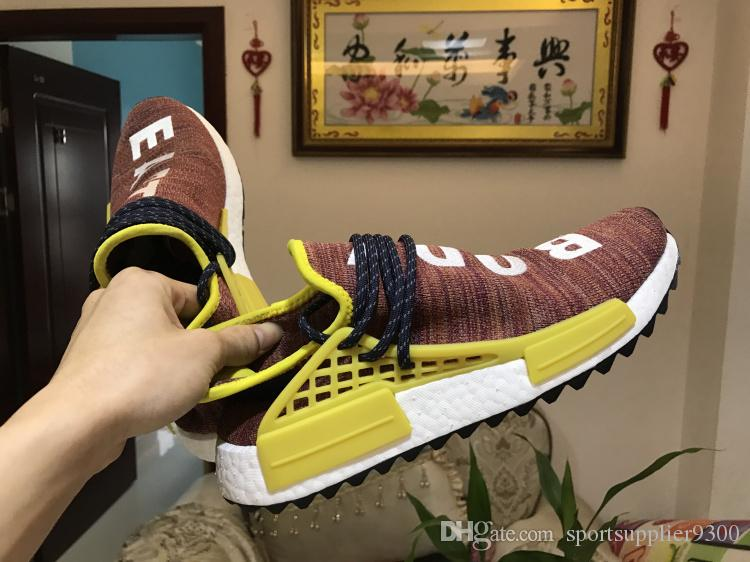 NMD Human Race Red sizes 5us 10, 5us (# 824762) from snkrs at