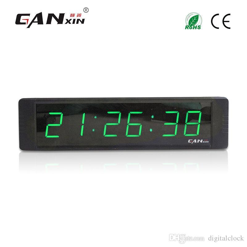 6017f2293 ... 6 Dígitos Verde Portátil Led Digital Gimnasio Temporizador Reloj  Decoración Con Control Remoto Led Intervalo Temporizador Reloj De Cuenta  Regresiva A ...