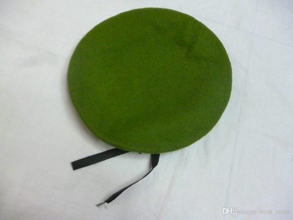 Qualidade superior de Lã Forças Especiais Boinas Militares Caps Gorros De Lã Do Exército Dos Homens Ao Ar Livre Respirável Treinamento de Soldado Boinas Militar