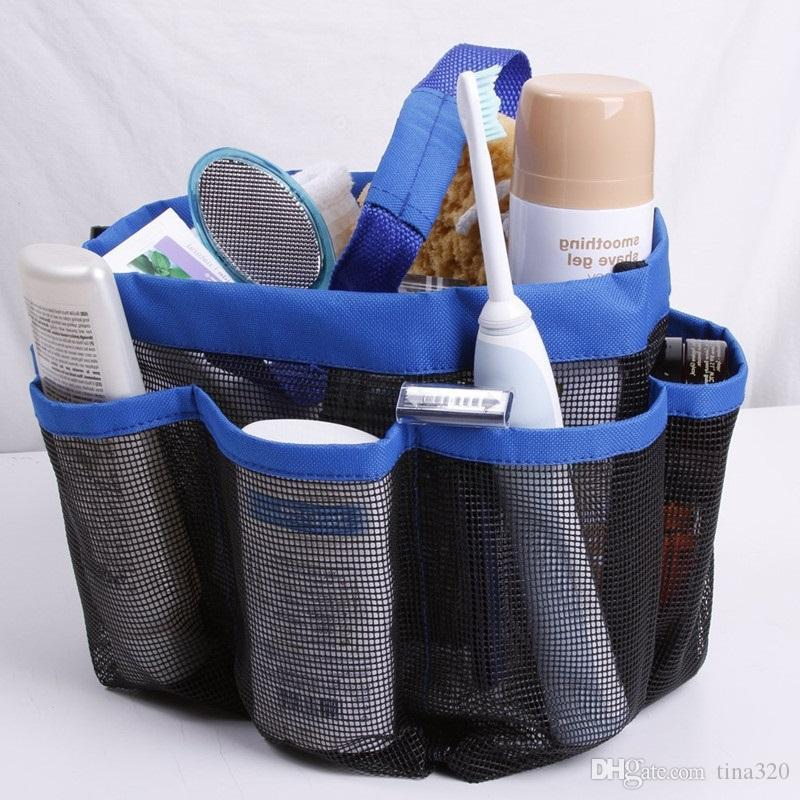 Shower Caddy Oxford Bathroom Hanging Storage Bag Home Makeup ...