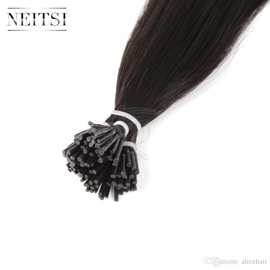 Neitsi new arrival 28 straight i tip hair extensions best quality neitsi new arrival 28 straight i tip hair extensions best quality 100 remy human hair 1gs 100gtape in extensions tape on hair extensions from alicehair pmusecretfo Image collections