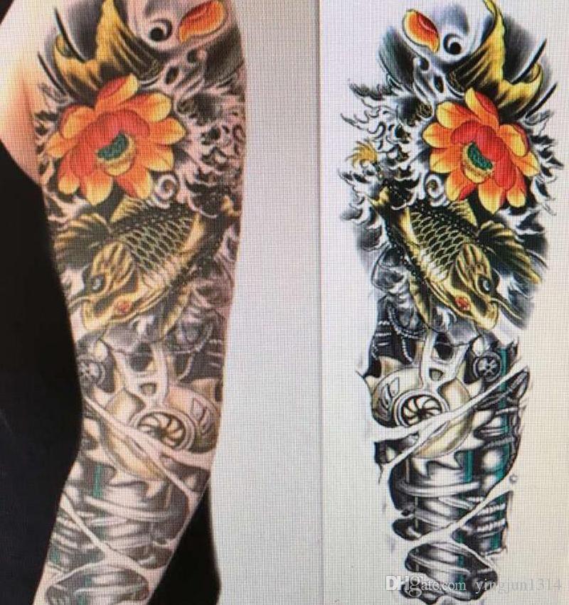 Großhandel Großhandel Arm Große Temporäre Tattoos Mechanische Patten