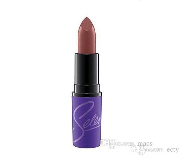 High quality New makeup M Brand 12 colors Selena Dreaming of You matte lipstick 12 color 3g DHL free