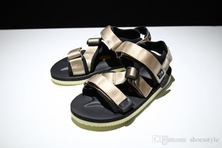 4c93dca0b442 2017 Mens And Womens Mastermind JAPAN X SUICOKE Kisee V Boys And Girls  Summer Outdoor Beach Sandals 36 44 Silver Shoes Mens Sandals From  Shoesstyle