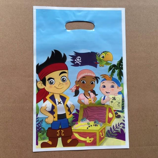 Wholesale Pirate Loot Bag Happy Birthday Party Decoration Decorations Kids Gift