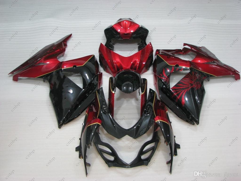 Fairing Kits GSX R1000 2010 Body Kits GSX-R1000 13 14 Red Black Full Body Kits for Suzuki GSXR1000 2009 2009 - 2014 K9