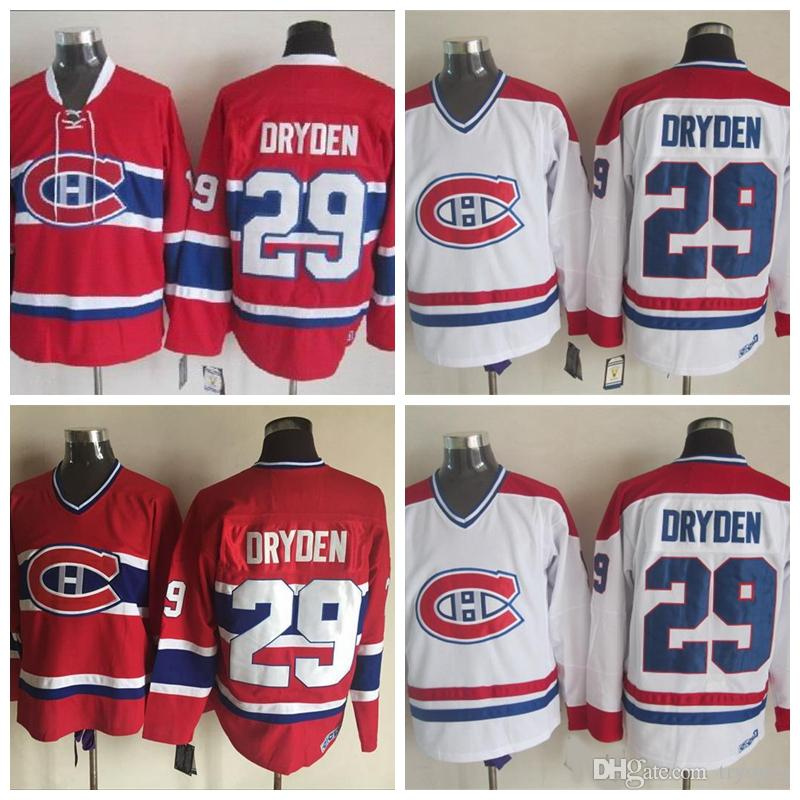 ... adult ch throwback nhl hockey jersey bcfaf 82d38  amazon throwback ken  dryden montreal canadiens hockey reebok montreal canadiens no.29 ken dryden  mens 1faba8dc3