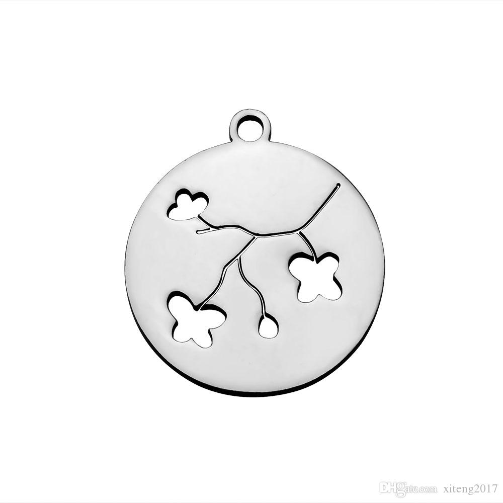 New Small Octopus & Bird & Owl Charms DIY Stainless Steel Animal Charm Pendant For Necklace/ Bracelet Making Jewelry Supplies Wholesale