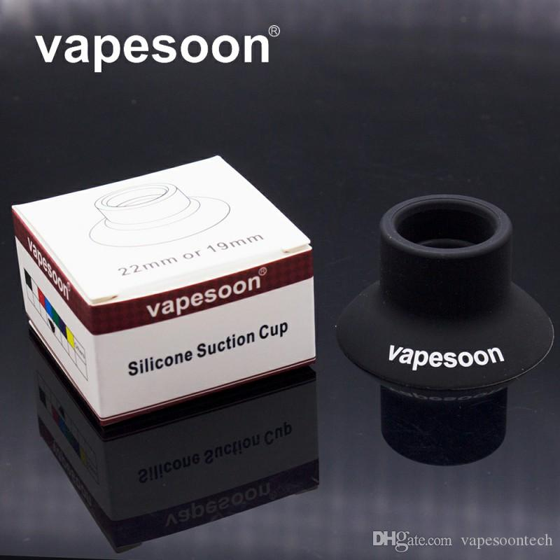 Vapesoon Silicone Suction Cup eCig EGO Battery Silicon Case Sucker Base Holder Atomizer tank Stands Portable E-Cig Holder
