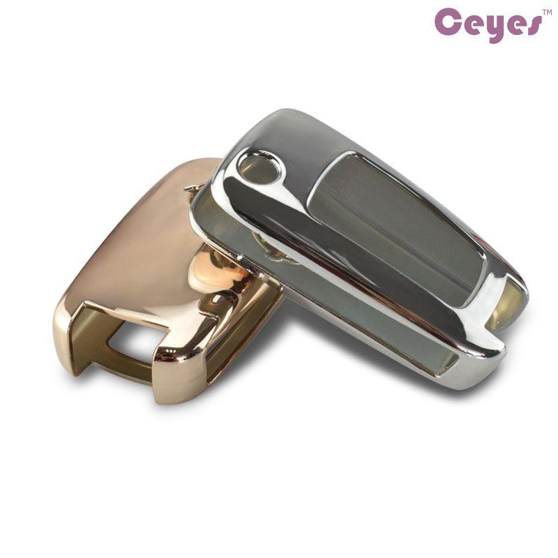 Acessórios do carro caso capa chave para Chevrolet Captiva Malibu Cruze Aveo Epica Comaro Trax shell Do Carro chave de proteção do carro styling