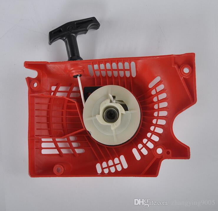 Hochwertiges Gartenwerkzeug Benzin-Kettensäge Patrs 45cc 52cc 58cc Kettensägenanlasser Baumstammmarschineteile einfacher Anlasser