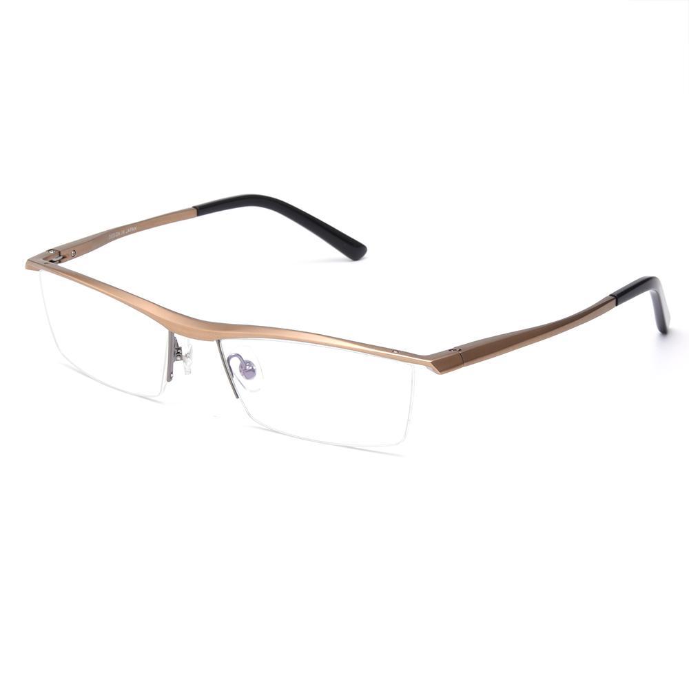 6de7a5a7e9 Wholesale- Brand Prescription Glasses Frames Aluminium Magnesium ...