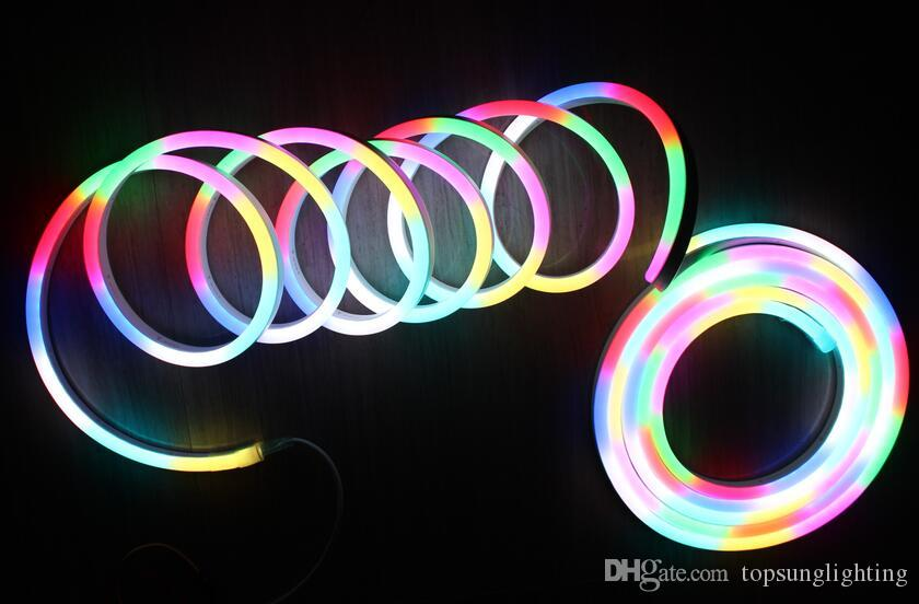 10m reel 24v dynamic chasing digital led neon flexible strip rope 10m reel 24v dynamic chasing digital led neon flexible strip rope lights 5050 rgb pixel ic with dmx512 remote controller digital led neon pixel led neon mozeypictures Choice Image