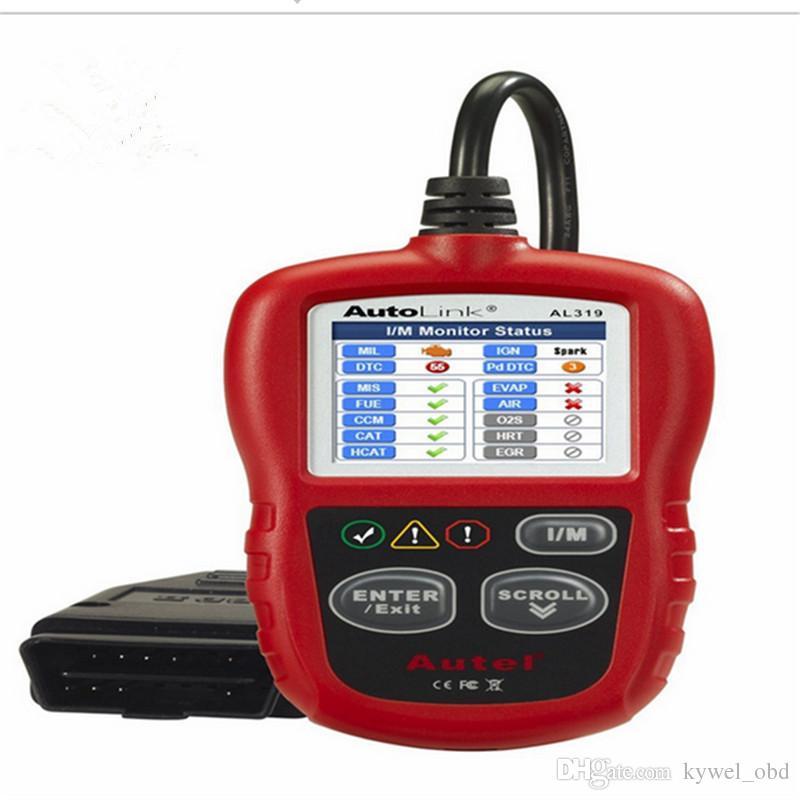 Varredor do leitor de código de Autel Autolink AL319 OBD2 para o GM GM BENZ ECT de Ford GM