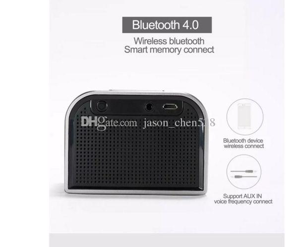 Original REMAX M8 Mini Bluetooth Speaker Aluminum Alloy Portable Speaker HI-FI Music Player Stereo Subwoofer Home Audio Support TF Card MP3