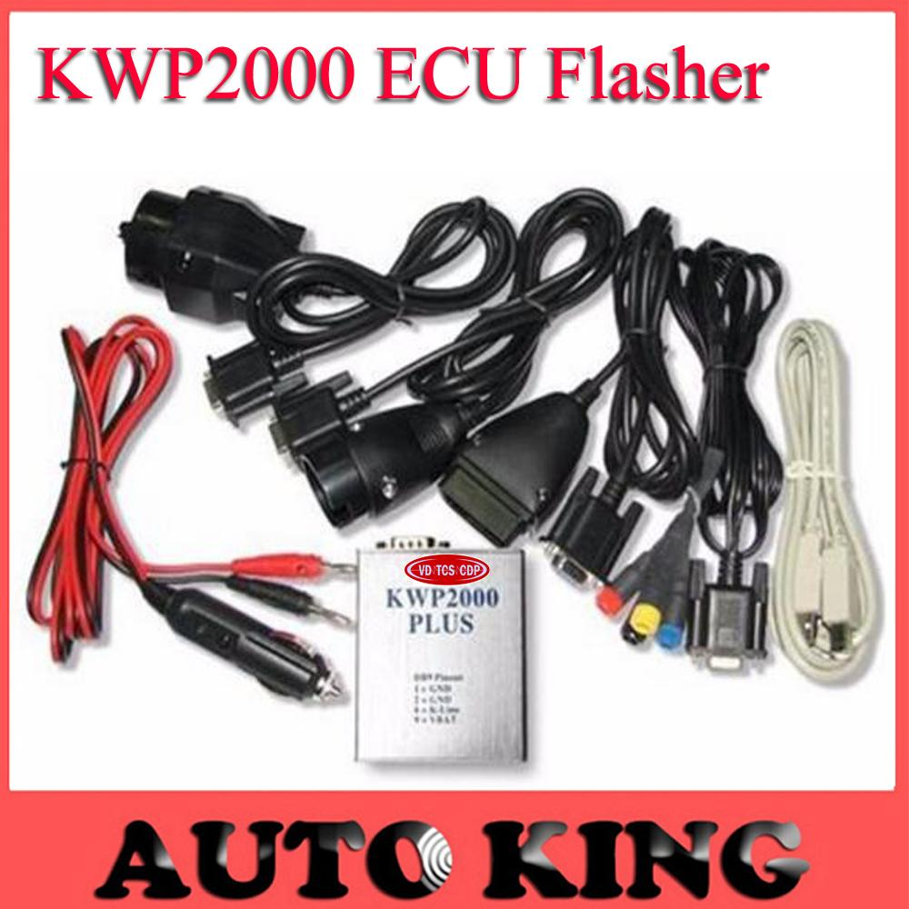 Wholesale- KWP2000 Plus OBD2 ECU Flasher Chip Tuning Kit ECU Engine Tune  Remap