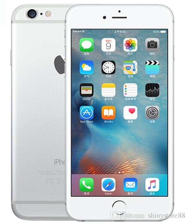 الأصلي ابل اي فون 6S زائد بدون بصمات 5.5 بوصة 16GB ثنائي النواة دائرة الرقابة الداخلية 9 تجديد مقفلة الهاتف