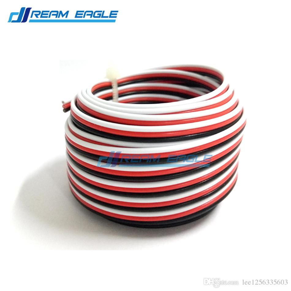 2018 10m 26awg Servo Extension Cable Wire Extended Wiring 30 Cores ...