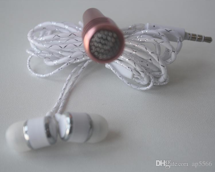 2017 New Hot mobile phone microphone with headphones one-piece perfume capacitance sing karaoke treasure mini microphone