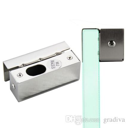 2018 Door Stainless Steel Bracket Cl& For Frameless Glass Door Bolt Lock From Graa $38.2   Dhgate.Com  sc 1 st  DHgate.com & 2018 Door Stainless Steel Bracket Clamp For Frameless Glass Door ...