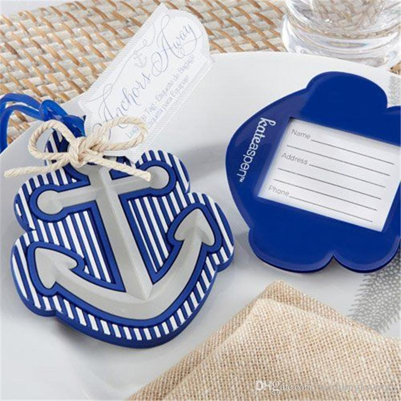 beach theme anchor luggage tag wedding favor bridal shower party gift guest present favour kids party favor kids party favors from weddingfavours