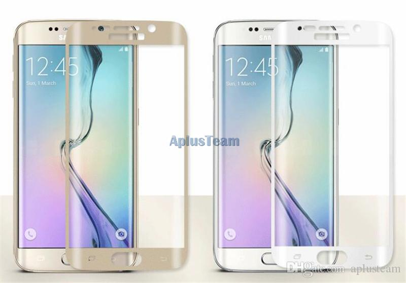 3D Clear Curved Full Cover Ultra Thin Tempered Glass Screen Protector For Samsung Galaxy s8 Plus S7 edge s6 Protective Film for Mobile phone