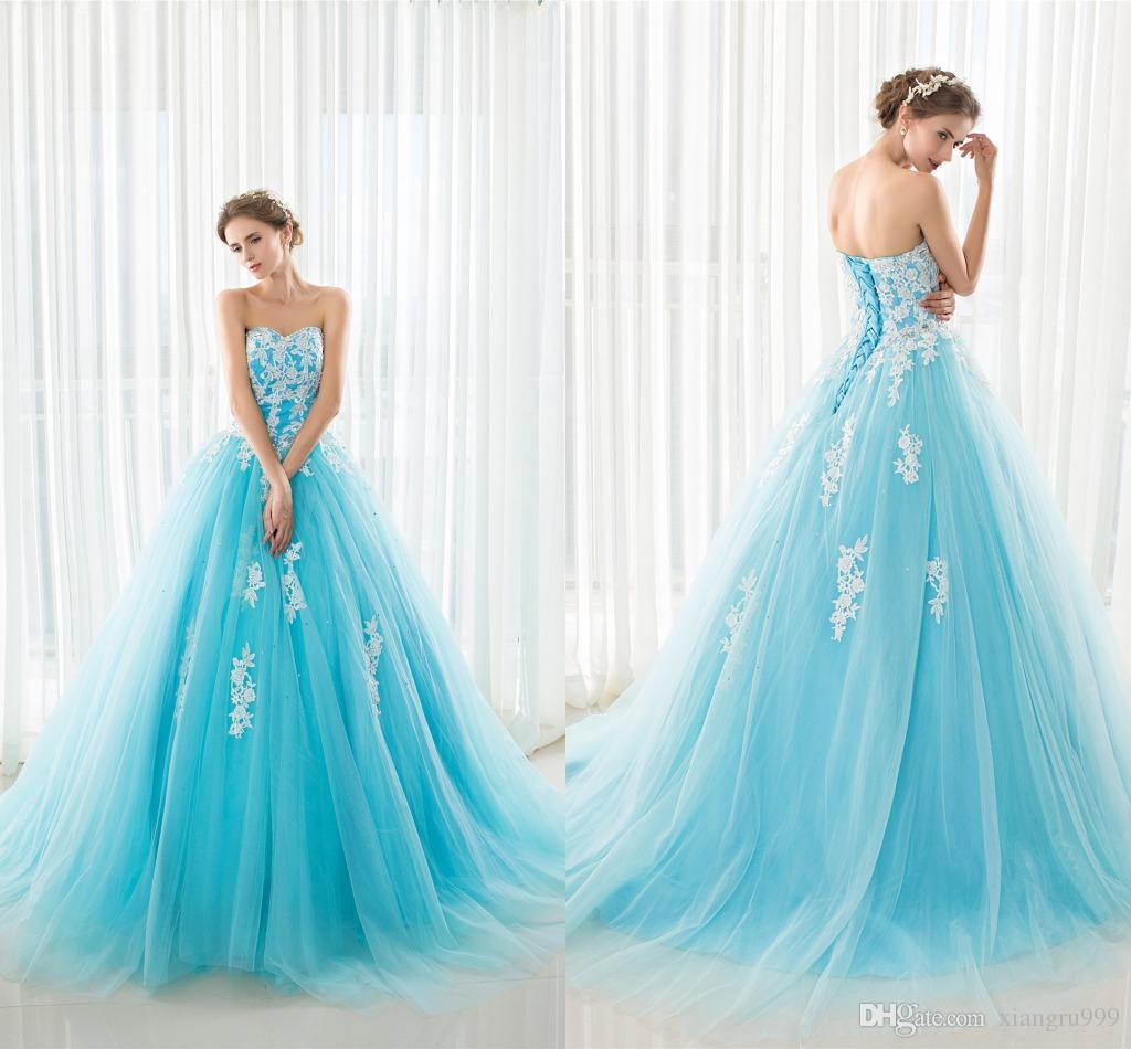 Light Blue Dresses