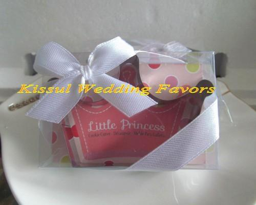 Cute Baby Decoration Gift of Little Princess Crown Cookie Cutter baby birthday party favors and baby Girl souvenirs