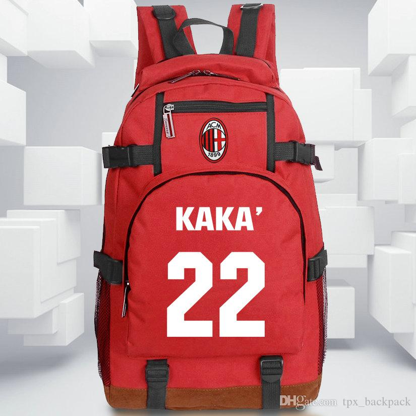 b685fa23da2a Kaka Backpack Super Star Day Pack Football Game School Bag Soccer Packsack  Quality Rucksack Sport Schoolbag Outdoor Daypack Kaka Backpack Online with  ...