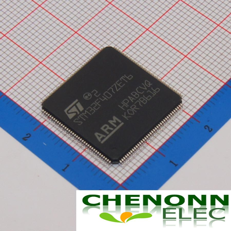 STM32F407ZET6/LQFP-144_20x20x0... 100% New Original Brand ST Best quality and competitive price fast delivery