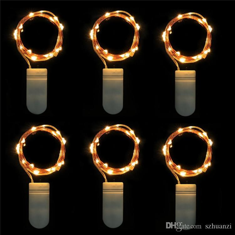 Cheap Micro Led String Lights Battery Powered Itart Set Of 10 Mini ...