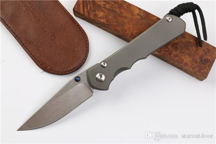 Chris Reeve Grand Sebenza Inkosi 25 Idaho Made S35VN Couteau pliant tactique Camping en plein air Chasse Survival Pocket Utility Collection EDC