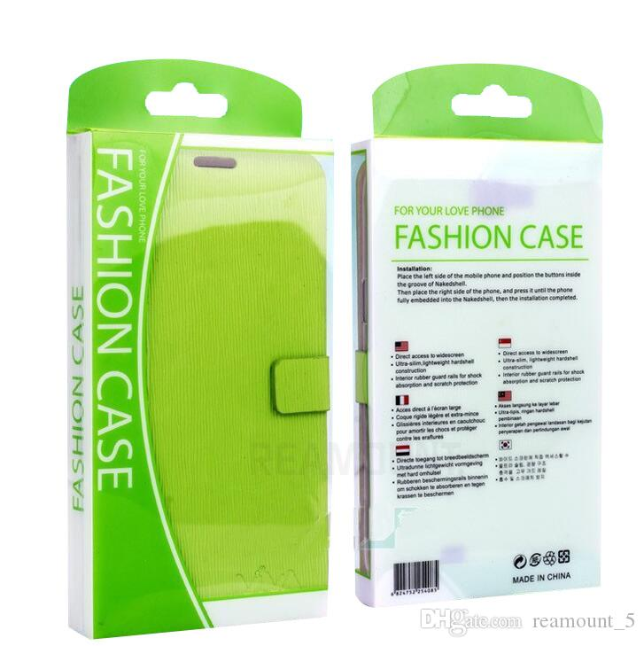 Universal Colorful High Class PVC Retail Packaging Box for iPhone 7 for 7 Plus Cover Case Packaging