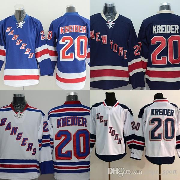 82f02b5fdc4 2019 Factory Outlet Mens New York Rangers 20 Chris Kreider 100% Embroidery  Logo Best Quality Hot Sale Ice Hockey Jerseys Accept From Espn_sport, ...
