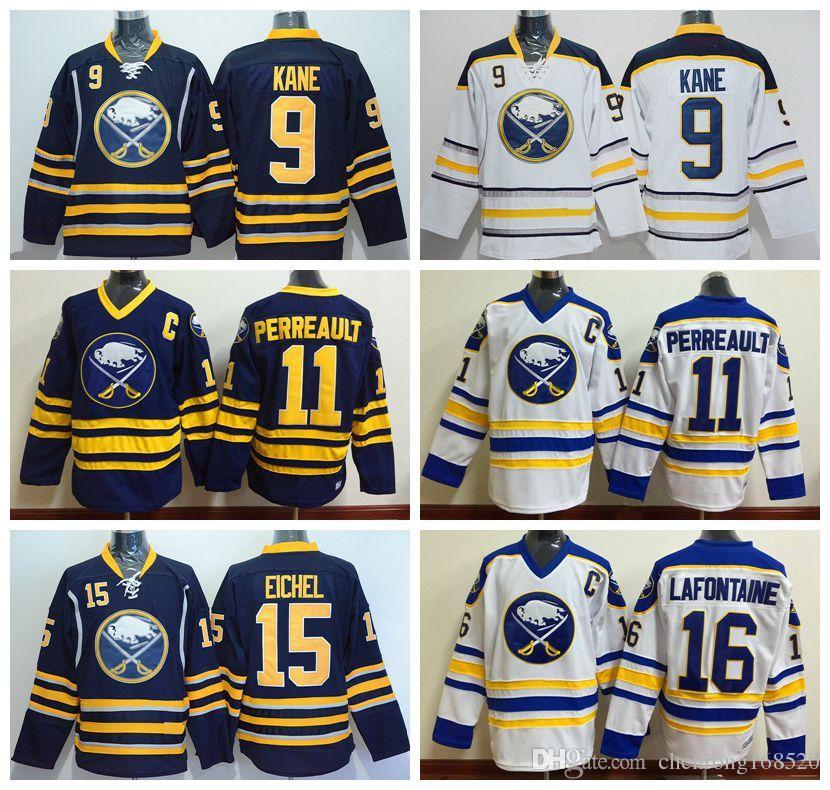 2017 cheap wholesale men buffalo sabres 15 jack eichel ice hockey jerseys 9 evander kane 11