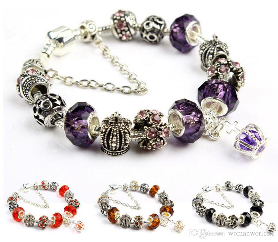 2019 Hot New Design Diy Crystal Beads Charm Bracelets European And