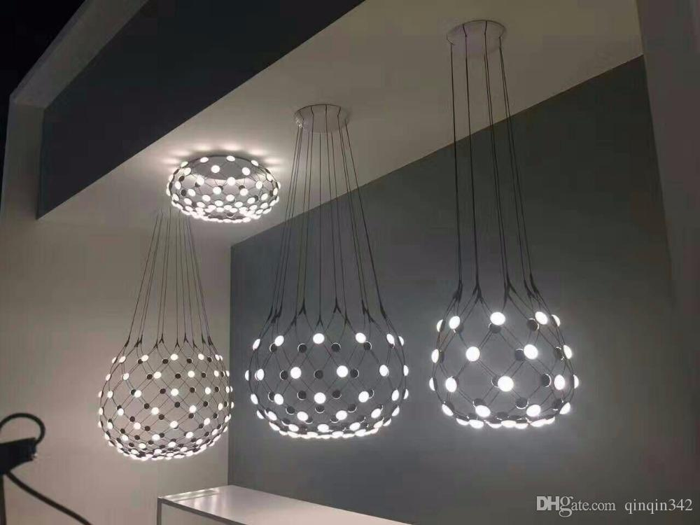 Ceiling Lights & Fans Lights & Lighting Led Restaurant Chandelier Simple Modern Atmosphere Living Room Bedroom Bar Table Lamp Creative Personality Strip Nordic Lamps