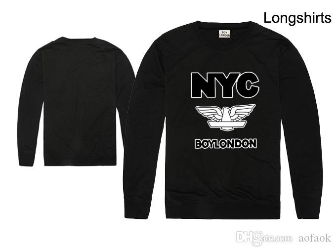 Big discount boy london design long sleeve t-shirt letter print tee shirt bigbang lovers tshirt