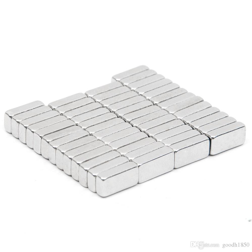 N52 rechteckiger Magnet 9,5 * 4,6 * 2,5 mm Block seltene Erde NdFeB Neodym Permanentmagnet große leistungsstarke akustische Feld Lautsprecher