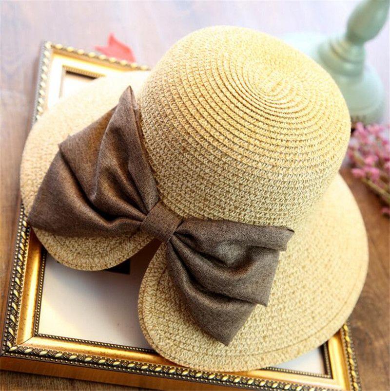 2081616f866 Female Mini Design Big Hand Woven Baby Girl Sun Hat Baseball Cap Hat Girls Summer  Sun Hat Straw Pork Pie Hat Snapback Hats From Waterfish69
