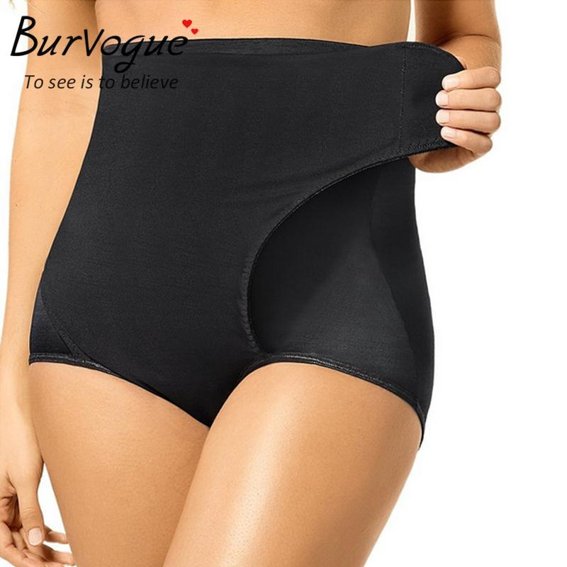 57a5d96625ade 2019 Wholesale Burvogue Hot Seamless High Waist Slimming Butt Lifter With Tummy  Control Trainer Body Shaper Knickers Pants Underwear Shapewear From  Stepheen ...