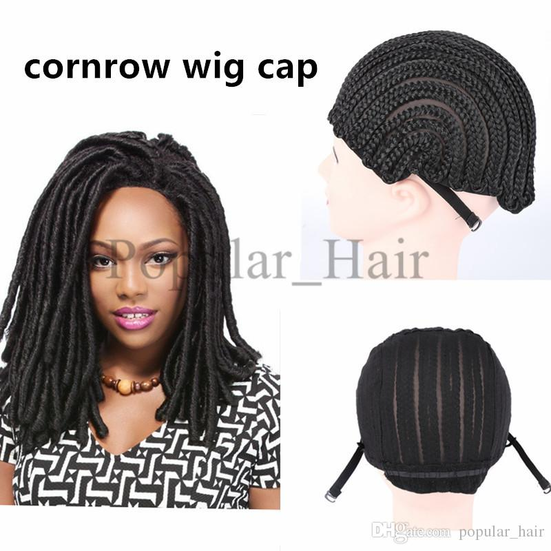 Cornrows Cap Net Elastic Dome Wig Cap Glueless Hair Net Liner