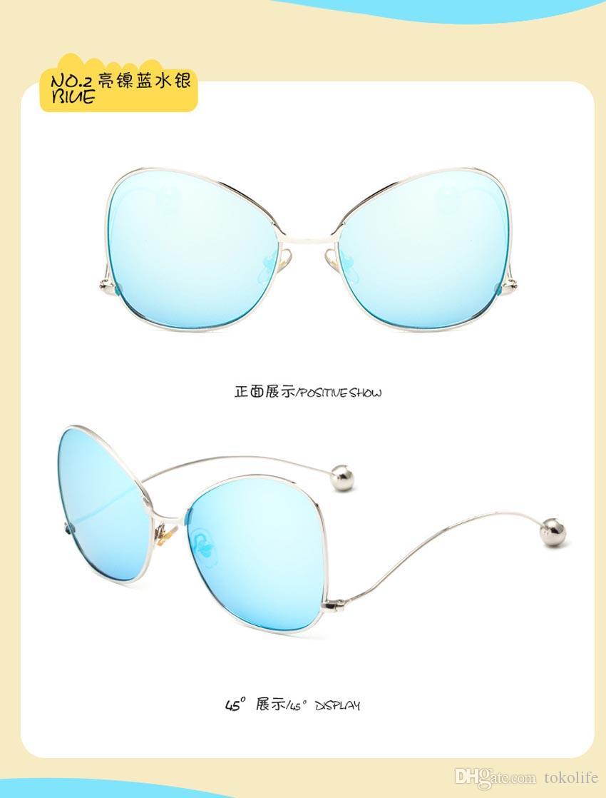 38ee515827e9 2019 6 Style New 2017 Kids Boys And Girls Fashion Sunglasses Shades Google  Trendy Girls Designer Sunglasses Children Teens Frame Eyewear Sungalss From  ...