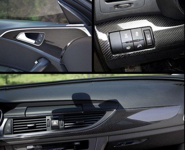 30 * 152 CM / pcs 5D glossy 3D fibra de carbono do carro do vinil película protetora do carro-styling para porta espelho retrovisor interior adesivos protetores